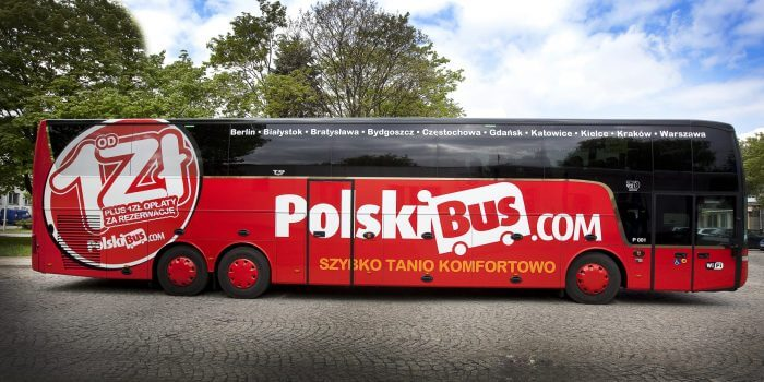PolskiBus - Bus Services in Poland