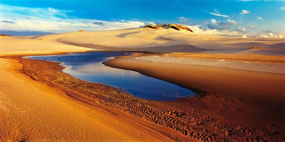 Tourist Attractions in Poland: Slowinski Sand Dunes
