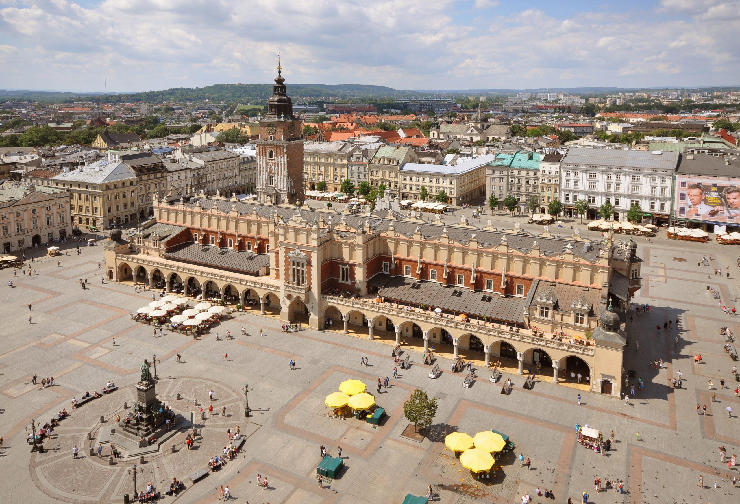 Tourist Attractions in Poland: Main Market Square